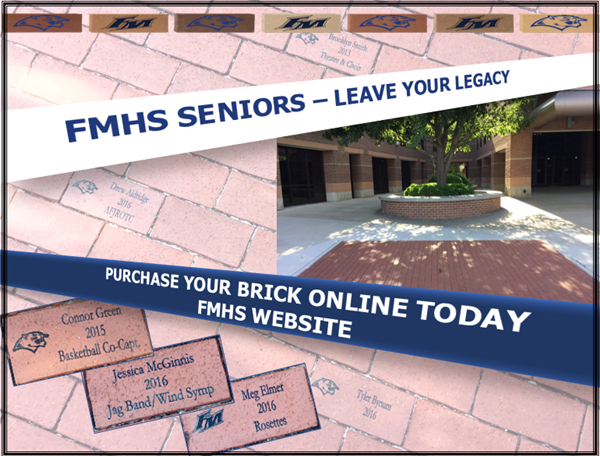 2018 Senior Brick