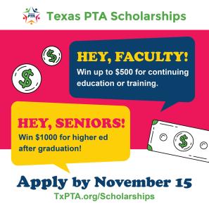TXPTA Scholarships